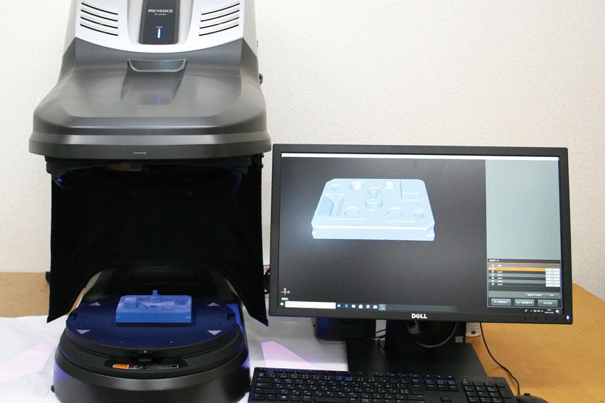 株式会社 はなさかテック|HanasakaTec Inc. 3Dスキャナ型三次元測定機 VL–500